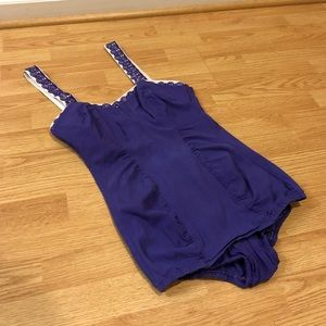 Vintage Catalina Swimsuit Convertible Strapless XL